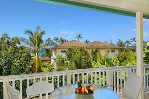 poipu vacation rental lanai ocean view
